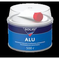 314.0500 SOLID ALU - (фасовка 500 гр) наполнительная шпатлевка, усиленная алюминием