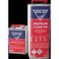 322.7500 SOLID PREMIUM CLEAR HS (5000+2500мл) - 2K лак системы HS (в комп. с отвердит.)