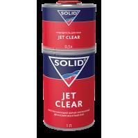 323.1500 SOLID JET CLEAR (1000+500 мл) - двухкомпонентный экспресс лак 2+1 (в комп. с отвердит.)