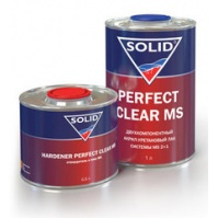 324.1000 SOLID PERFECT CLEAR MS (фасовка 1,5л)  2K лак системы MS (в комп. с отвердит.)