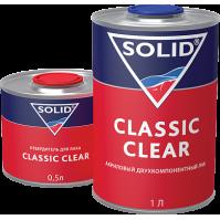 325.1500 SOLID CLASSIC CLEAR  (1000+500мл) - 2K лак (в комп. с отвердит.)