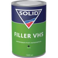 332-1.1504 SOLID FILLER VHS LOW VOC (1000+250 мл) -  грунт-наполнитель 4:1 (комп.), цв: черный