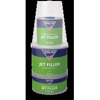 333.0650 SOLID JET FILLER (650 мл) - 3K-грунт для экспресс ремонта (комплект), цвет: серый