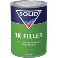 336.0803 SOLID 1K FILLER (800 мл) - однокомпонентный грунт, цвет серый