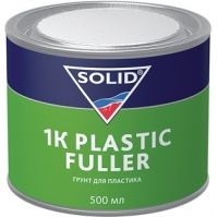 337.0500 SOLID 1K PLASTIC FULLER  грунт для пластика 0,5 л