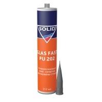 360.0311.1 SOLID GLAS FAST PU 202 однокомпонентный полиуретановый клей для вклейки стекол 310ml 2-ч