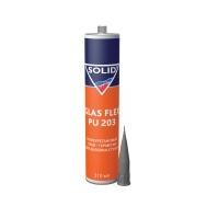 360.0312.1 SOLID GLAS FLEX PU 203 однокомпонентный полиуретановый клей для вклейки стекол 310ml 3-ч