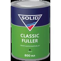 SOLID Classic Fuller  (800+200 мл) -  грунт-наполнитель 4:1 (комп.), цв: черный