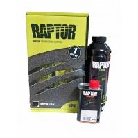 RAPTOR 2K 3:1 Защитное покрытие повышенной прочности 750 мл U-Pol Черный Бутылка