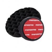 Мягкий поролоновый полировальный диск с рифленой поверхностью, черный 150x25мм шт MENZERNA