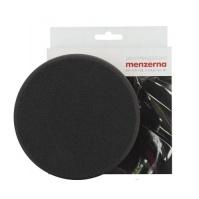 Мягкий поролоновый полировальный диск, гладкий, черный 3 шаг, липучка, 150x30мм MENZERNA