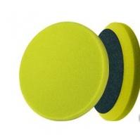 Сверхпрочный поролоновый полировальный диск, зеленый, 150\180. Толщ 30мм. липучка (Velcro). MENZERNA