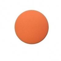 Среднежесткий поролон. полировальный диск, гладкий,  оранжевый, 2 шаг, липучка, 150x30мм MENZERNA