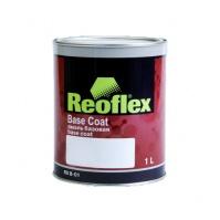 REOFLEX   Акриловая эмаль 4+1 MIX 910 глубоко-черный 3,5л
