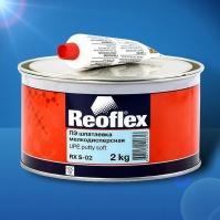 Шпатлевка мелкодисперсная Soft   2 кг+0,05 REOFLEX