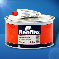 Шпатлевка с алюминием Alumet  2 кг+0,05 REOFLEX