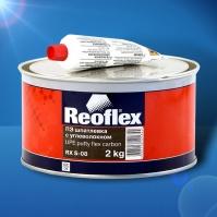 Шпатлевка с углеволокном  Flex Carbon 2 кг+0,05 REOFLEX