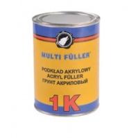 Грунт акриловый 1K ACRYLFILLER серый 0,8л MULTIFULLER