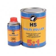 Грунт акриловый HS 5:1 ACRYLFILLER графит 0,42 + 0,084л MULTIFULLER