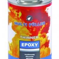 Разбавитель эпоксидный THINNER EPOXI прозр. 1л MULTIFULLER