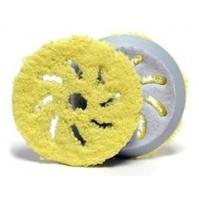 Полировальный диск из микрофибры d 130-150мм, желтый Rupes