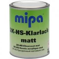 2K-HS акриловый матовый лак с уровнем глянца 10%. 2K-HS-Klarlack matt CCM - 1л. Mipa