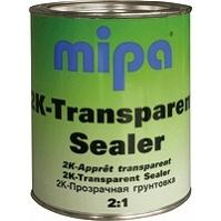 Грунт наполнитель адгезионный, прозрачный 2K-Transparent-Sealer - 1л. Mipa