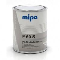 Шпатлевка полиэстерная напыляемая (жидкая) P60S - 1л. Mipa