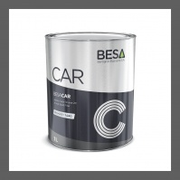 грунт 4+1 толстослойный серый 7040 HS акриловый BESA (1л)