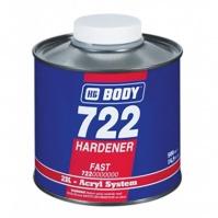 Отвердитель BODY 722 FAST для 2К акриловых материалов, бесцвет. 0,5 л