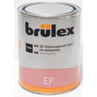 """2K-EP Грунт """"по мокрому"""" 6 x 1 ltr Brulex +  2K-Отвердитель нормальный 6 x 0,5 ltr Brulex"""