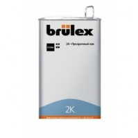 2K-HS-Прозрачный лак 4 x 5 ltr Brulex + 2K-Отвердитель нормальный 6 x 2,5 ltr Brulex