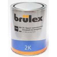 2K-Грунт-наполнитель wet-on-wet NEW 6 x 1 ltr Brulex + 2K-Отвердитель нормальный 6 x 0,5 ltr Brulex