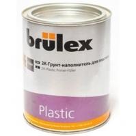 2К-Грунт-наполнитель для пластика 6 x 1 ltr Brulex + Отвердитель для пластика 2К-1 л