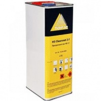 Clearcoat MS Двухкомпонентный прозрачный лак  5 ltr +Hardener MS Отвердитель 2,5 ltr ТОП-10