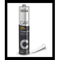 герметик кузовной черный 9005 URKI-SEAL 3000 полиуретановый BESA (310мл)