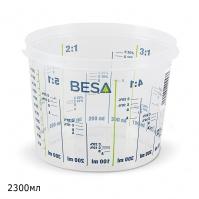 емкость пластиковая мерная BESA(2300мл)
