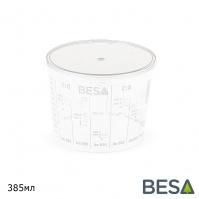 крышка для пластиковой емкости  385мл BESA