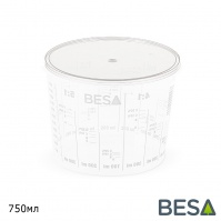 крышка для пластиковой емкости  750мл BESA