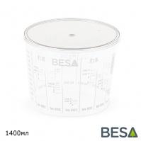 крышка для пластиковой емкости 1400мл BESA