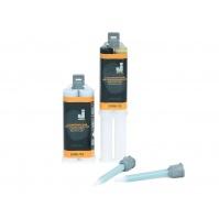 2К клей Jeta Plast для ремонта пластиковых элементов кузова полиуретан,черный, шприц 25 гр