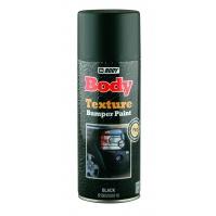 Аэрозольная краска Body д/бампера текстурная   черн. 0,4 л
