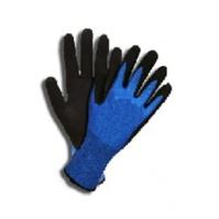 Защитные промышленные перчатки от порезов (5класс) Цвет -  синий 9/L Jeta