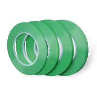 Контурная зеленая лента для маскировки, ПВХ,  -30 +130°С, 0,13 мм 9мм x 55м Jeta