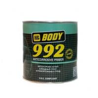 Аэрозольный грунт Body 992 1К алкидный сер. 0,4 л