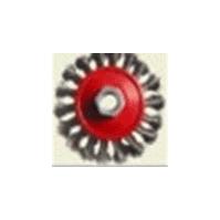 600.11В Корщетка дисковая скрученная 100MM,M14X2 Orientcraft