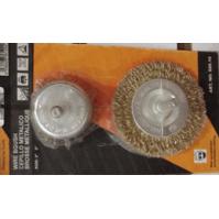 600.19 Набор кордщеток чашка+диск блистер 50+75ММ Orientcraft