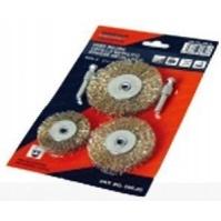 600.20 Набор из 3-х дисковых корщеток блистер Orientcraft