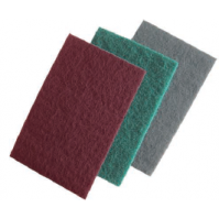 119.00 Абразивный материал на синтетической основе 150х230мм красный Orientcraft