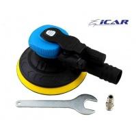 GT125-2,5-H15-V Машинка шлифовальная пневматич.  ICAR GT POWER, орбита 2,5мм, подл. 125мм без отв. (